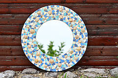 """Zrkadlá - Mozaikové zrkadlo """" MORE SLNKO PIESOK """" - 10959255_"""