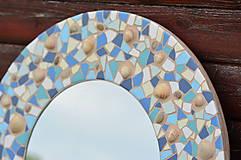 """Zrkadlá - Mozaikové zrkadlo """" MORE SLNKO PIESOK """" - 10959256_"""