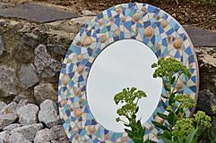 """Zrkadlá - Mozaikové zrkadlo """" MORE SLNKO PIESOK """" - 10959257_"""