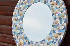 """Zrkadlá - Mozaikové zrkadlo """" MORE SLNKO PIESOK """" - 10959258_"""