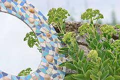 """Zrkadlá - Mozaikové zrkadlo """" MORE SLNKO PIESOK """" - 10959259_"""