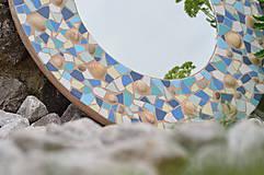 """Zrkadlá - Mozaikové zrkadlo """" MORE SLNKO PIESOK """" - 10959261_"""