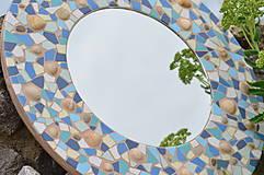 """Zrkadlá - Mozaikové zrkadlo """" MORE SLNKO PIESOK """" - 10959263_"""
