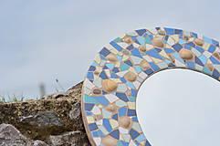 """Zrkadlá - Mozaikové zrkadlo """" MORE SLNKO PIESOK """" - 10959264_"""