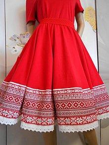 Sukne - FLORAL FOLK - kruhová sukňa s vačkami, krížiková, ako vyšívaná... - 10957498_