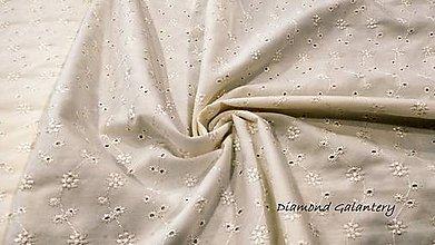 Textil - Madeira - cena za 10 centimetrov (Béžová) - 10958081_