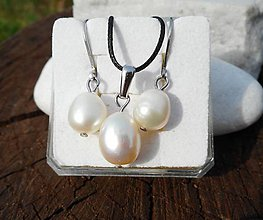 Sady šperkov - tears of gods-perla-sada-chirurg.oceľ- - 10959670_