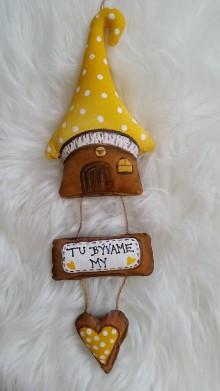 Dekorácie - Domčekovo... - 10959351_