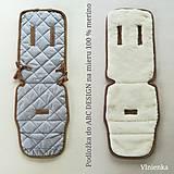 Textil - VLNIENKA  podložka ABC DESIGN 100% WOOL MERINO na mieru - 10959652_