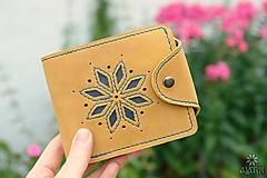Tašky - Kožená peňaženka VI. •Alatyr• - 10959318_