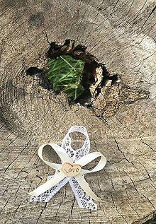 Pierka - Svadobné pierko Ivory - 10957704_