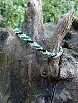 Pletený náramok 10