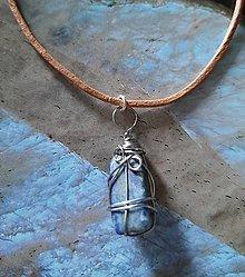 Náhrdelníky - Zľava 20% Choker s Lapis Lazuli - 10958369_