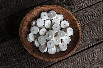 Svietidlá a sviečky - Sójová čajová sviečka 15g (náplň) - 10956983_