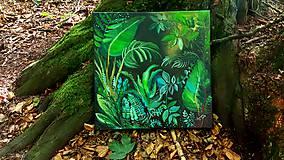 Obrazy - Olejomaľba - vitajte v džungli - 10959650_