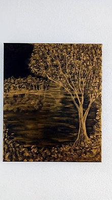Obrazy - Noc v zlate - 10957051_