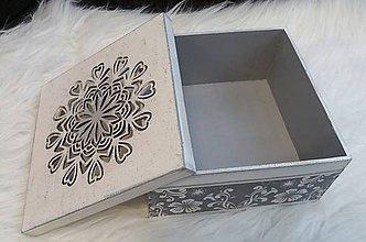 Krabičky - Krabička  - mandala - 10957757_