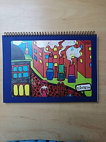 Papiernictvo - Náčrtník, skicár A4, Rúžomberok - 10957532_