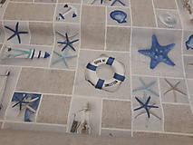 Textil - Námornícka metráž š.140cm - 10958988_