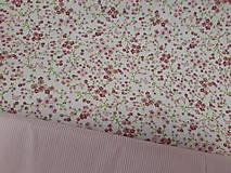 Textil - Drobné kvietky š.150cm - 10958997_