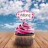 Papiernictvo - Menovka na cupcake obláčik - 10959357_