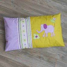 Úžitkový textil - Návliečka *Fialovo-zelená*60x40 - 10962660_