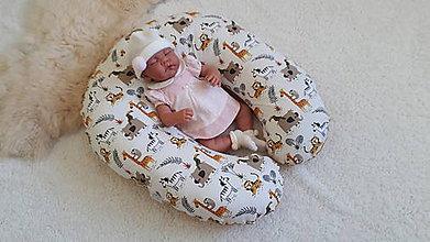Textil - Vankúš na dojčenie a polohovanie bábätka s návliečkou - 10962579_