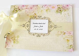 Papiernictvo - svadobná kniha hostí - 10960423_