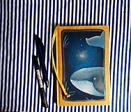 Papiernictvo - Zápisník s veľrybou - 10962206_