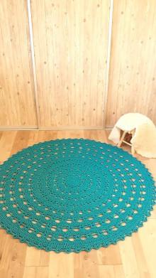 Úžitkový textil - Koberec 100% bavlna 180 cm - 10961920_