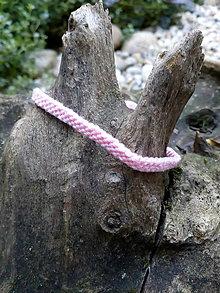Náramky - Ružový náramok - 10961488_