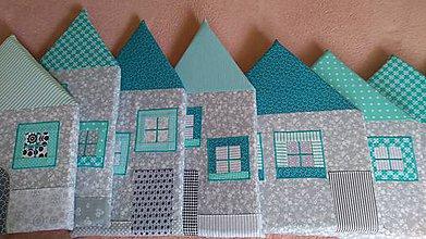 Úžitkový textil - Domčekový mantinel na stenu - 10962142_