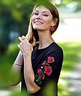 Šaty - Šaty Black Poppy - 10962131_