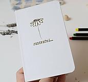 Papiernictvo - Zápisník -jedinečná - 10961275_