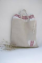 Iné tašky - Vreckotaška na chlebík a pečivo - 10962196_