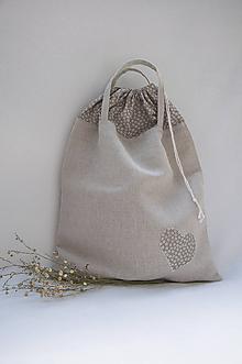 Iné tašky - Vreckotaška na chlebík a pečivo kvietková - 10962239_