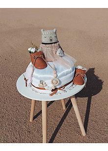Hračky - PRINCESSA plienková torta - 10962863_