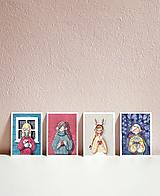 Papiernictvo - Set vianočných pohľadníc - 10961477_