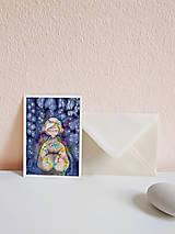 Papiernictvo - Set vianočných pohľadníc - 10961485_