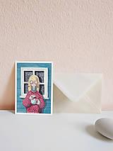 Papiernictvo - Set vianočných pohľadníc - 10961486_