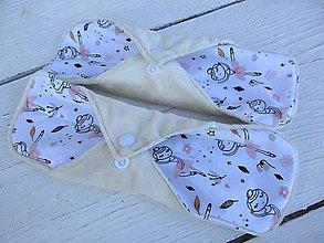 Úžitkový textil - látková nočná vložka-bambus,tanečnica - 10962920_