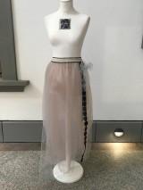 Sukne - Tylová sukňa - 10962379_