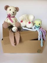 Hračky - Maličkí kamaráti -súpravička pre bábätko - 10962621_