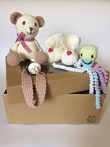 Detské súpravy - Maličkí kamaráti -súpravička pre bábätko - 10962621_
