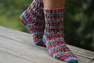 Obuv - s dierkovaným vzorom s Pravej ponožkovej (v.38-39) - 10962708_