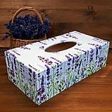 Krabičky - Zásobník na vreckovky - 10963113_