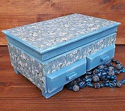 Krabičky - Šperkovnica - 10963229_