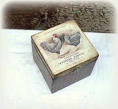 Krabičky - Krabička - 10962039_