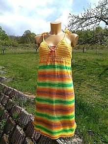 Šaty - Výpredaj - ľahké bambusové šaty - 10962853_