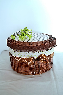 Košíky - Čokoládový box s poklopom IVLO - 10960454_